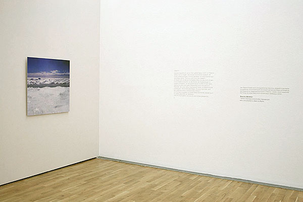 Documentation Ease and eagerness, Kunstmuseum Wolfsburg